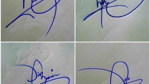 Name Signature Style