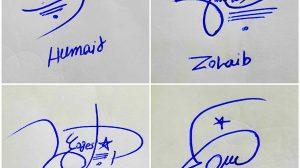 Online Name Signature
