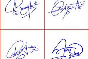Pretty Signatures For Your Name